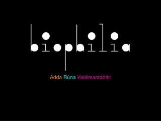 Adda  Rúna  Valdimarsdóttir