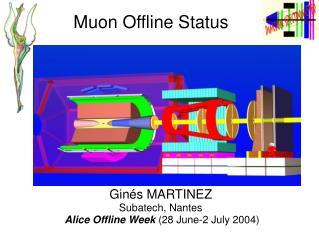 Muon Offline Status