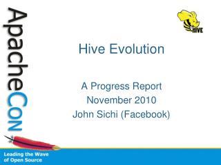 Hive Evolution