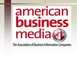 American Business Media: The Basics