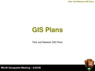 GIS Plans