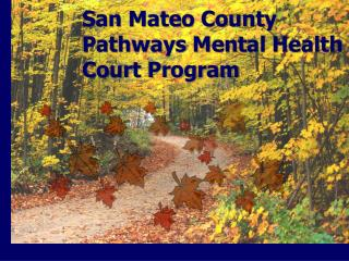 San Mateo County  Pathways Mental Health Court Program