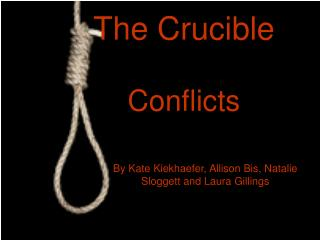 The crucible conflicts essay