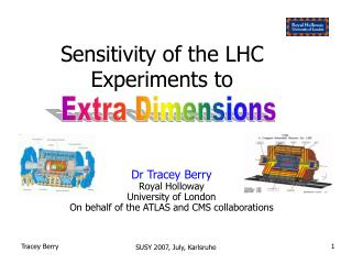 Sensitivity of the LHC Experiments to