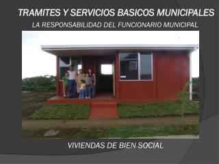 TRAMITES Y SERVICIOS BASICOS MUNICIPALES