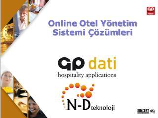 Online Otel Yönetim Sistemi Çözümleri