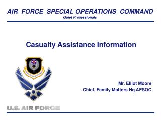Casualty Assistance Information