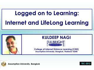 Logged on to Learning:  Internet and LifeLong Learning