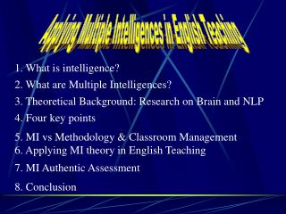 3. Theoretical Background: Research on Brain and NLP