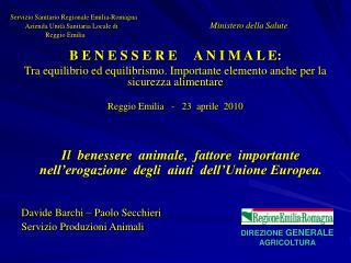 Servizio Sanitario Regionale Emilia-Romagna