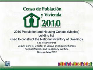 2010  Population  and  Housing Census  ( Mexico ) building list