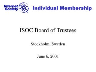 ISOC Board of Trustees
