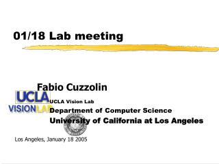 01/18 Lab meeting