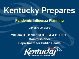 Kentucky Prepares