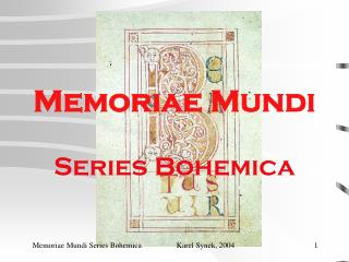 Memoriae Mundi