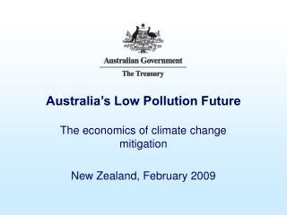 Australia's Low Pollution Future