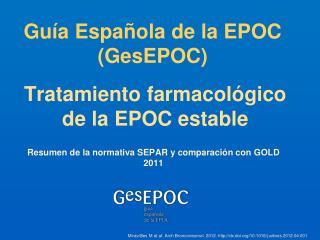Gu�a Espa�ola  de la EPOC ( GesEPOC )