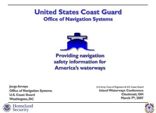 United States Coast Guard Office of Navigation Systems