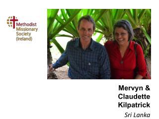Mervyn & Claudette Kilpatrick Sri Lanka