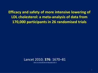 Lancet 2010;  376 : 1670–81 DOI:10.1016/S0140-6736(10)61350-5