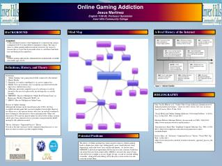 Online Gaming Addiction Jesus Martinez English 1108-03,  Professor  Synstelien