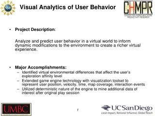 Visual Analytics of User Behavior