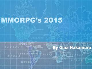 MMORPG's 2015