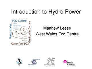 Introduction to Hydro Power