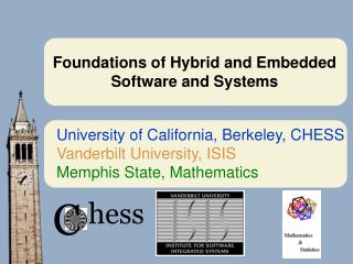 Foundations of Hybrid and Embedded Software and Systems