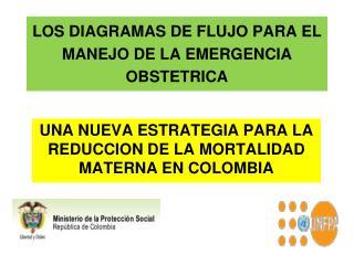 LOS DIAGRAMAS DE FLUJO PARA EL MANEJO DE LA EMERGENCIA OBSTETRICA