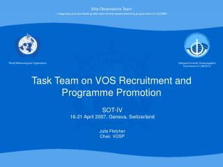 Task Team on VOS Recruitment and Programme Promotion