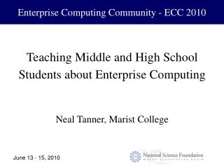 Enterprise Computing Community - ECC 2010