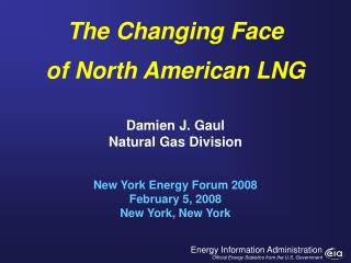 Damien J. Gaul Natural Gas Division
