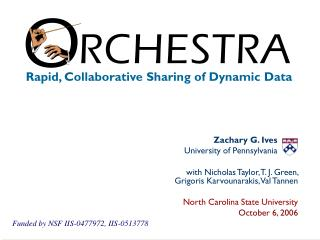 Rapid, Collaborative Sharing of Dynamic Data