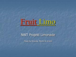 Fruit Limo