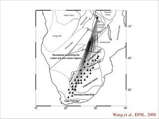 Wang et al., EPSL, 2008