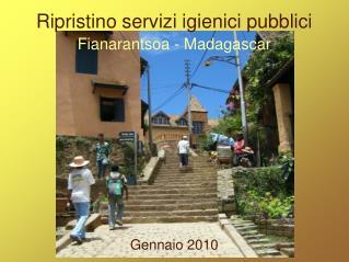 Ripristino servizi igienici pubblici
