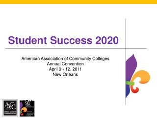 Student Success 2020