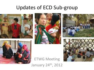 Updates of ECD Sub-group