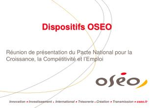 Dispositifs OSEO