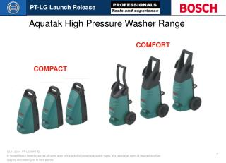 Aquatak High Pressure Washer Range