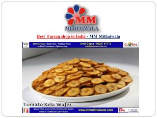BestFarsan shop in India - MM Mithaiwala