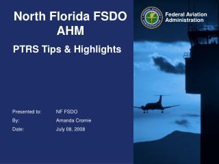 North Florida FSDO AHM