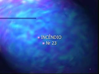 INC NDIO  Nr 23