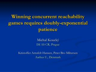 Winning concurrent reachability games requires doubly-exponential patience