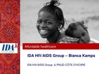 IDA HIV/AIDS Group – Bianca Kamps
