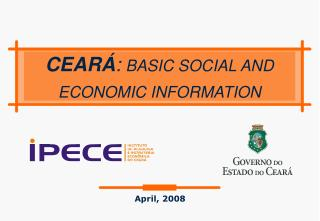 CEAR� : BASIC SOCIAL AND ECONOMIC INFORMATION