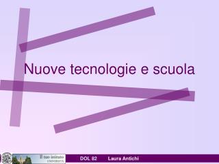 Nuove tecnologie e scuola