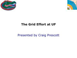 The Grid Effort at UF