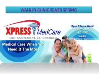 Walk in Clinic Silver Spring